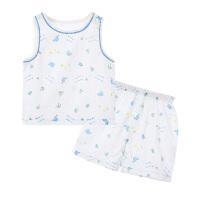 婴儿衣服夏装内衣背心男女宝宝无袖背心短裤