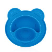 nuby 吸盘碗 硅胶宝宝吃饭碗儿童宝宝碗餐具防摔儿童碗婴儿辅食碗