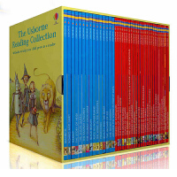 【全店300减100】英文原版绘本 The Usborne Reading Collection我的第三个图书馆40册青