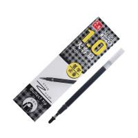 中性笔替芯头0.5mm/0.7mm/1.0mm黑色红色大容量签字笔芯 1.0mm 黑色20支装658