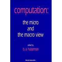 【预订】Computation: The Micro and the Macro Vie
