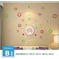 3D立体墙贴自粘壁电视背景墙壁装饰墙贴画