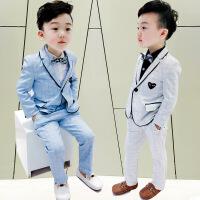 男孩男童西装套装新款韩版英伦男宝宝休闲小西服儿童礼服春秋