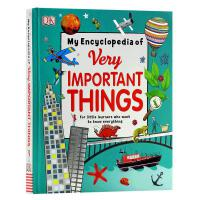 英文原版 儿童百科 我的重点小百科 My Encyclopedia of Very Important Things