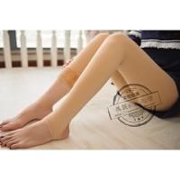 季加绒加厚连裤袜特厚肉色打底裤厚光腿保暖神器隐形肤色外穿