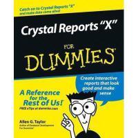 【预订】Crystal Reports 10 For Dummies