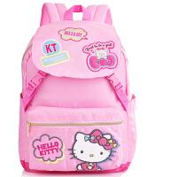 Hello Kitty 凯蒂猫 双肩背包小学生书包KT猫书包小学生休闲书包 661917