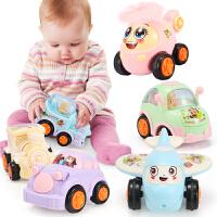 儿童玩具车男孩0-1-2-3-4岁惯性小汽车回力男宝宝模型全套智力
