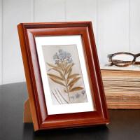 宽欧式实木相框5 6 7 8 10 11 12寸 a4 B5 摆台挂墙儿童创意画框