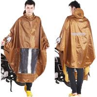 太空电动车摩托车雨衣雨披单人大帽檐雨衣