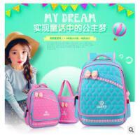 新款韩版可爱女童书包手提包套装小学1-2年级双肩书包儿童补习包