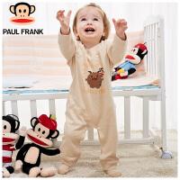 TWU3173114大嘴猴(Paul Frank) 婴儿内衣 小怪物长袖圆领纯棉 春秋连体衣