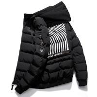 男士冬季外套2018新款棉衣男韩版潮流帅气冬天学生短款小棉袄