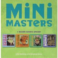 英文原版 Mini Masters Boxed Set 艺术大师启蒙纸板书套装:德加、莫奈、马蒂斯、梵高 3-5岁宝宝