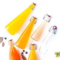 Glasslock韩国透明玻璃带盖扣油壶油瓶 果汁瓶玻璃带盖多规格可选