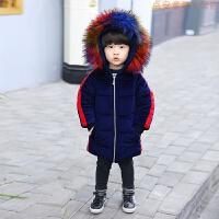 20181220154621967儿童棉衣外套2018新款冬装男童羽绒中长款宝宝洋气棉袄韩版潮