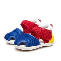 夏季宝宝学步鞋男童凉鞋婴儿布鞋女童公主机能鞋