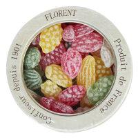 法国进口 费罗伦水果沙拉硬糖果230g 原装水果口味 休闲零食生日礼物情侣糖