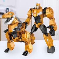 合金变形玩具金刚5霸王龙钢索恐龙赛博坦G1手办模型男孩