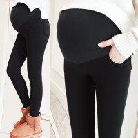 外穿孕妇打底裤秋冬季2018新款孕妇冬装托腹裤加绒孕妇裤潮妈
