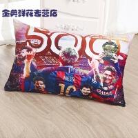 巴萨抱枕巴塞罗那梅西内马尔周边球迷用品纪念品世界�装饰抱枕 系列睡枕
