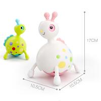 宝宝玩具0-3-6-12个月玩具滑行小精灵玩具牙胶摇铃