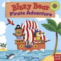 Bizzy Bear: Pirate Adventure 忙碌的小熊纸板活动书:海盗冒险