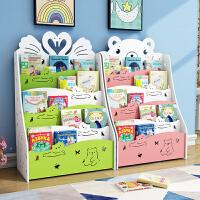 幼儿园小孩绘本收纳架 儿童书架落地简易置物架经济型学生宝宝书柜