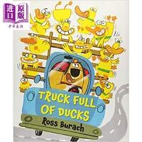 【中商原版】一车鸭子 Truck Full of Ducks 亲子绘本 幽默搞笑 故事书 儿童图书 3~6岁 名师绘本