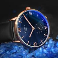 男士手表时尚新款夜光简约休闲大气非机械石英男表