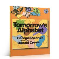英文原版绘本 Tomorrow's Alphabet George Shannon明天的字母幼儿英语启蒙书学习单词 廖