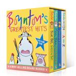 英文原版 Sandra Boynton's Greatest Hits 1 英语启蒙纸板书 Moo, Baa, La