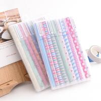 日韩国文具礼品批发小清新可爱碎花水彩笔彩色中性笔水笔10支套装