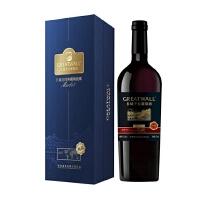 长城 359元/瓶 北纬40°梅鹿辄干红葡萄酒 750ML 12.5%vol