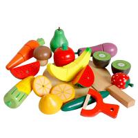 儿童过家家玩具厨房小女孩蔬菜切切看宝宝切水果切切乐玩具