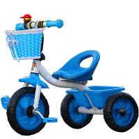 豪威 儿童手推三轮车童车小孩自行车脚踏车玩具宝宝单车1-2-3-4岁使用