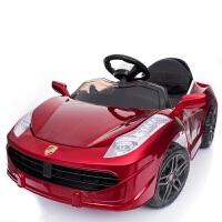 儿童电动车四轮跑车小孩可坐遥控汽车双驱电瓶摇摆童车宝宝玩具车