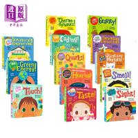 【中商原版】宝宝爱科学系列 Baby Loves Science 13册 儿童STEAM科学启蒙图画书 儿童科普百科绘本