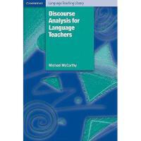 【预订】Discourse Analysis for Language Teachers
