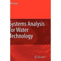 【预订】Systems Analysis for Water Technology