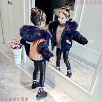 女童2018新款韩版儿童棉衣加厚中大童冬装女孩棉袄洋气短款潮