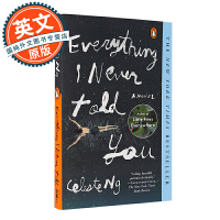 无声告白 英文原版 Everything I Never Told You 进口小说 Celeste Ng 伍绮诗 惊