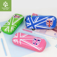 韩国kk树小学生笔盒男女童大容量儿童文具盒笔袋分层简约笔盒
