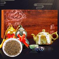 武夷金骏眉蜜香型红茶金俊眉红茶陶瓷礼盒装