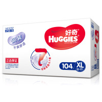 [当当自营]好奇(Huggies) 银装干爽舒适纸尿裤加大号XL104片(适合12-16公斤)