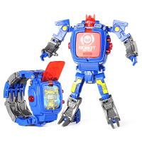 变形电子金刚手表儿童投影手表机器人宝宝奥特曼儿童玩具手表男童