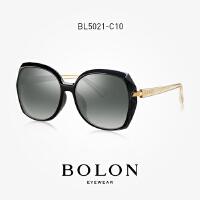 BOLON暴龙2018新款女潮流时尚墨镜大框舒适太阳镜个性眼镜BL5021