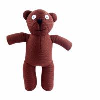 毛绒公仔礼物送女生 憨豆先生玩偶 憨豆先生泰迪熊毛绒公仔玩具可爱小熊卡通玩偶抱枕布娃娃儿童礼物 25-50cm