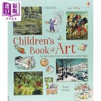 【中商原版】我的艺术欣赏书 Children s Book of Art 世界艺术欣赏 美的启蒙 艺术启蒙 生活艺术 英