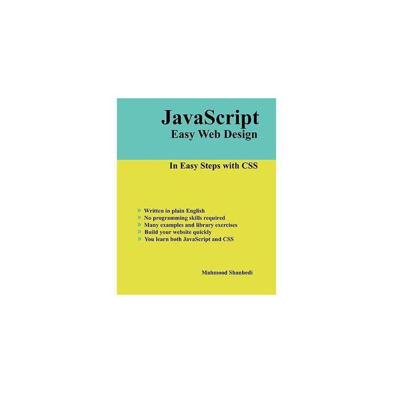 【预订】JavaScript Easy Web Design 美国库房发货,通常付款后3-5周到货!